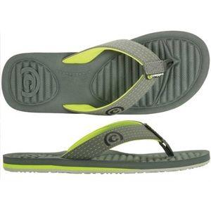 Cobian Hydro Pod Charcoal Flip Flops Sandals sz 11